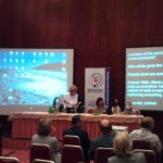 Founder of CCAC (Lauren Storck) with panel members at EFHOH Conference, April 2011, Vienna, Austria.