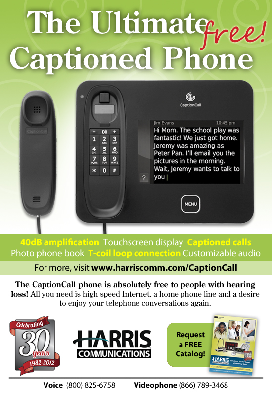 The Ultimate Captioned Phone - Harris Communications