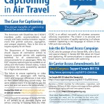 Flyer for Air Travel Access